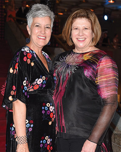 Jayne Watson, CEO and Janice O'Born, Chair of the National Arts Centre Foundation